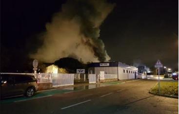Incendie La Voulte